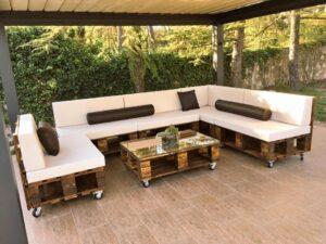¿Cómo crear muebles de jardín?