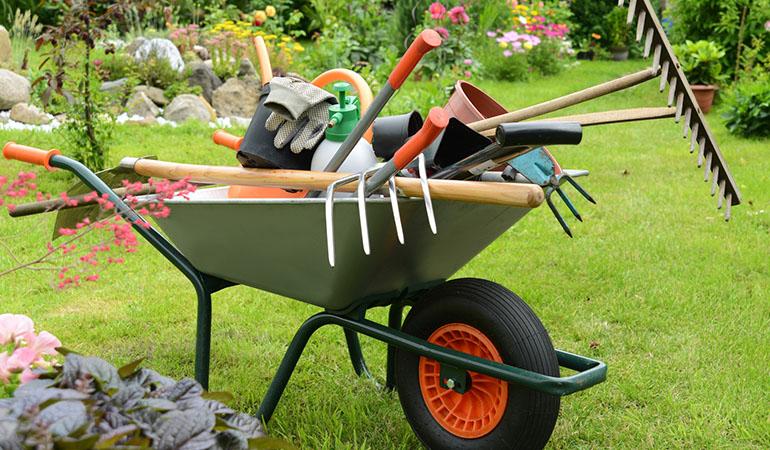 Herramientas de jardinería mas importantes