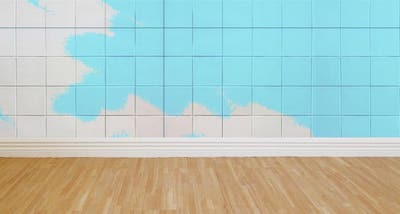 pintar baldosas baño
