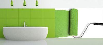 como pintar azulejos baño